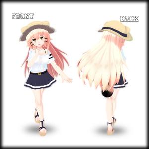 オリジナル3Dモデル『MoL~モル~』