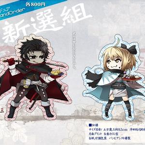 【Fate/GrandOrder FGO】新選組アクリルフィギュア 土方歳三