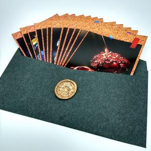 鉱物ポストカード 誕生石12種セット 封蝋封筒入り