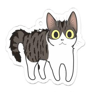 けだま猫キーホルダー