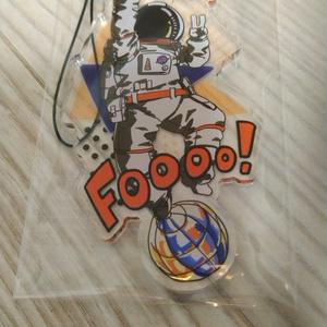 はっちゃける宇宙飛行士のアクキー