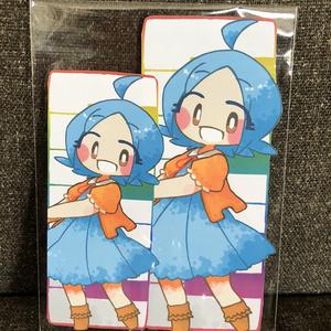 るなちゃんウォールステッカー(大小セット)