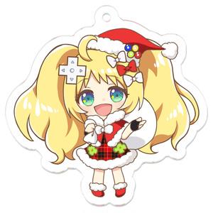 【クリスマス限定】牡丹きぃクリスマスver. アクリルキーホルダー