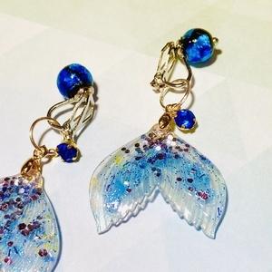 【mermaid】人魚のイヤリング(※ピアスにも変更可能)
