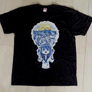 氏賀Y太先生とのコラボTシャツ『夜ちゃんの絶望』L(実質2Lサイズ)