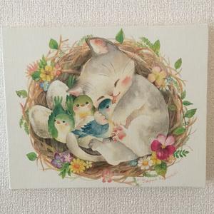 キャンバスアート「愛の巣」