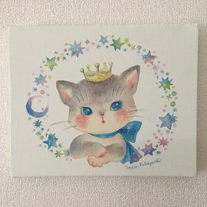 キャンバスアート「ほしの猫」