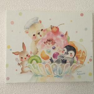 キャンバスアート「かきごおり」