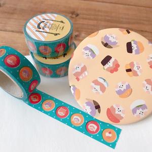 マスキングテープ+缶ミラーSET