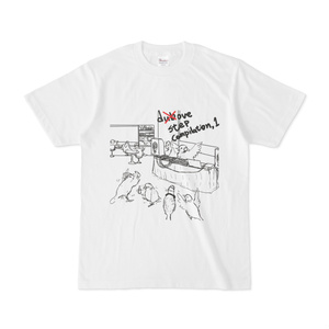 鳩ステップTシャツ