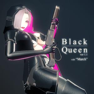 オリジナル3Dモデル『BlackQueen-ブラッククイーン-』