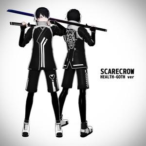 オリジナル3Dモデル『SCARECROW -スケアクロウ-』