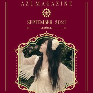 『AZUMAGAZINE』2021年9月号