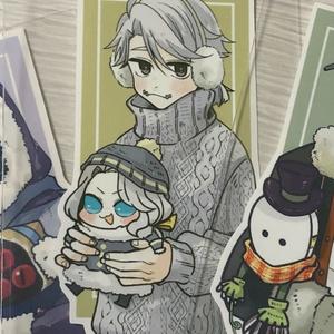 第五捏造冬服ステッカー(ミニハンターといっしょ!)