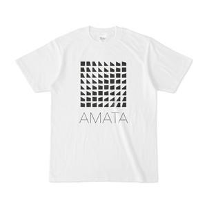 AMATAロゴTシャツ(白) -寄付金付き-