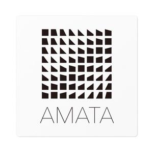 AMATAロゴステッカー(黒)