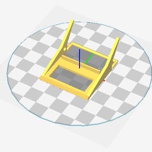 ラズパイゼロ用「Tube-Man 0+」ケース 基本パーツ(STLデータ)