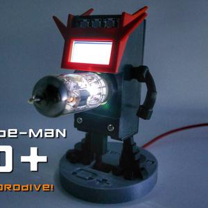 ラズパイゼロ用「Tube-Man 0+」ケース カスタムパーツ vol.1(STLデータ)