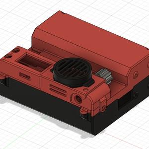 Mobile PosNeg Battery DIRECT用ケース 「出力サンプル+STLデータ」