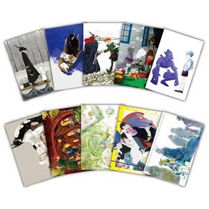 原画展記念ポストカードセット(10枚セット)