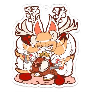 ツノイナリのキノハ「稲荷鹿踊り」