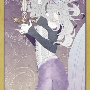 カード風アクリルキーホルダー(美刀)