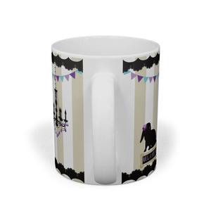 オトメスミレマグカップ【妖しい灯り】