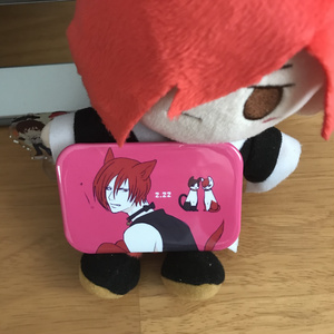 猫の日庵缶バッチ
