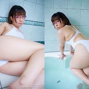 【DLのみ】競泳水着の彼女のブラマンジェ 無無田