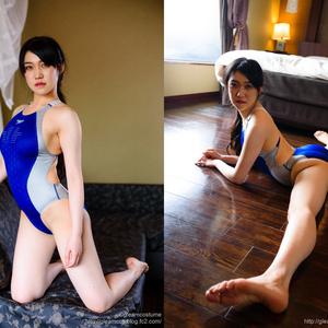 【高解像度DLデータ付】 競泳水着の彼女のエトワール 2ndSessions 有村ホロ