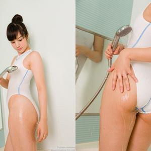 競泳水着の彼女のペシェ 夏目雅子vol2