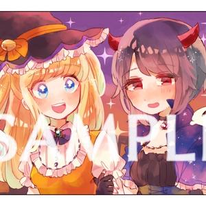 【オリジナル】ハロウィンポストカード