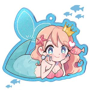 人魚姫のアクキー