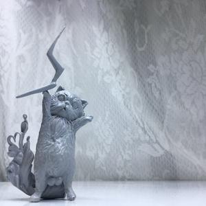 雷神にゃんこ「タマタマちゃん」
