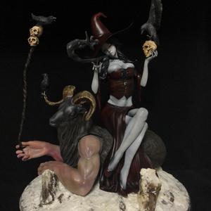 ドゥウルの森の魔女(塗装済み完成品)