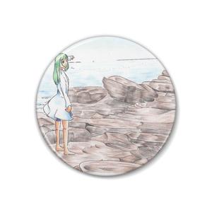 三浦海岸にて…(色鉛筆画)