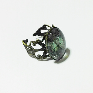 アルフォンス・ミュシャ「月光」のリング