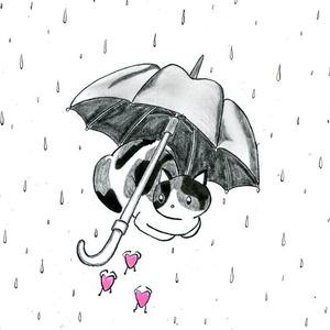 「雨宿り」
