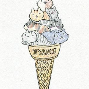 「ニャイスクリームミックス」
