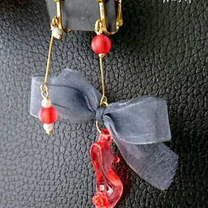 硝子の靴の耳飾 -加州・安定-