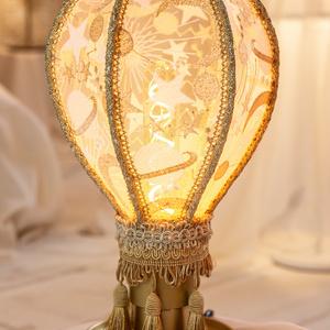 【再販】白・気球のランプシェード