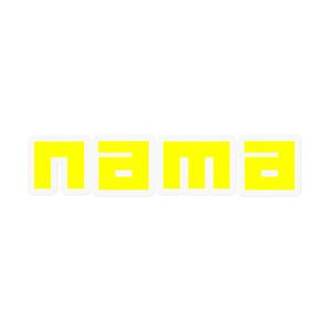 ナマステッカー(Yellow)