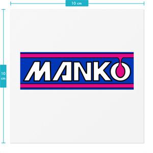 MANKOステッカー