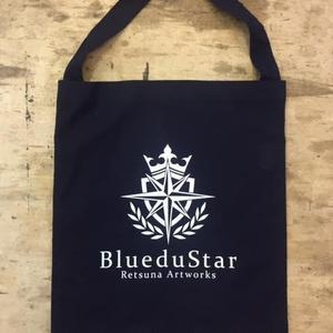 【値下げ↓】BlueduStar サークルオリジナルロゴショルダートート