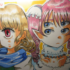 ☆SALE☆ オリジナル原画色紙 掘り出し品 ⑥