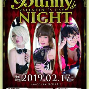 ☆2/17 Bunny de Valentine's Night記念布ポスター☆