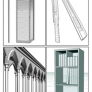 コミスタ素材集(3D素材)