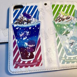 (りめG)手帳型iPhoneケース