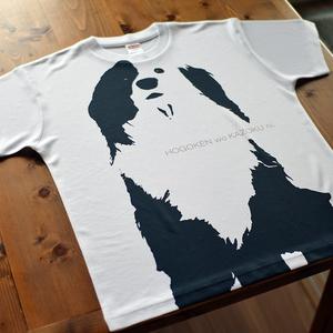 片パンダ犬 》ドライメッシュT