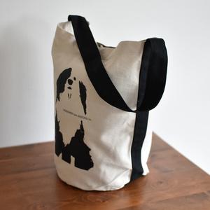 片パンダ犬 》ワンショルダーバッグ